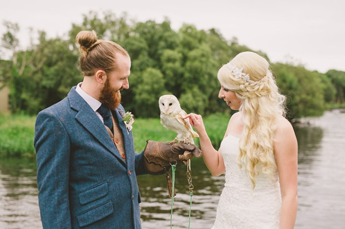ad949cde44 Helena and Neill s Tattoo Loving Northern Ireland Wedding by Divine  Photography