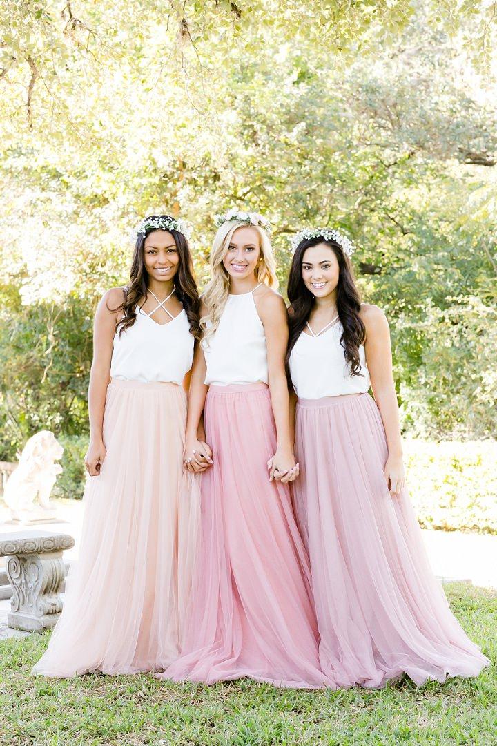Boho Loves Bohemain Bridesmaids Dresses And Stylish Mix