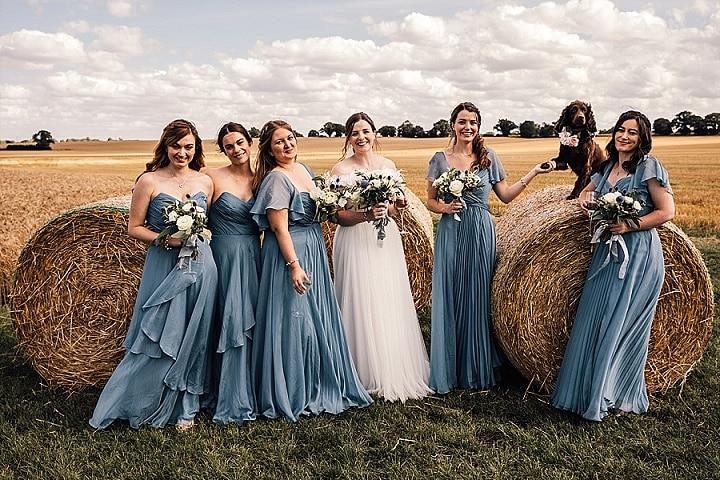 Olivia and Luke's Pig Themed Family Farm Wedding in Suffolk by Joseph Kinerman