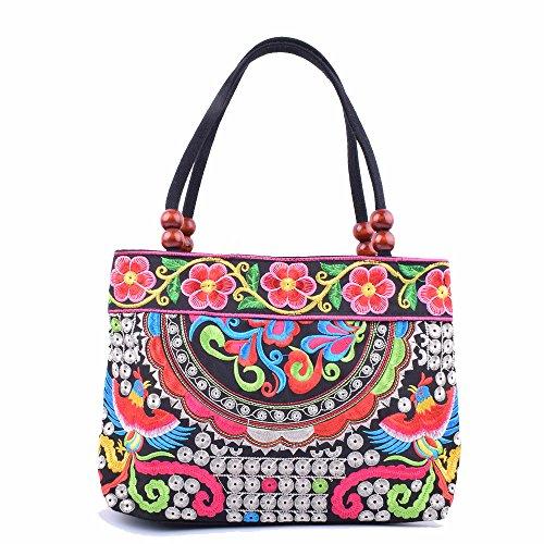 Peace Art Tree Womens Tote Bags Canvas Shoulder Bag Casual Handbags