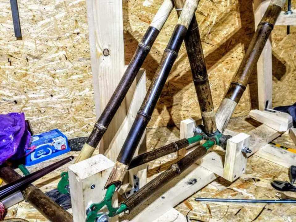 montaż bambuswoych tyczek 06