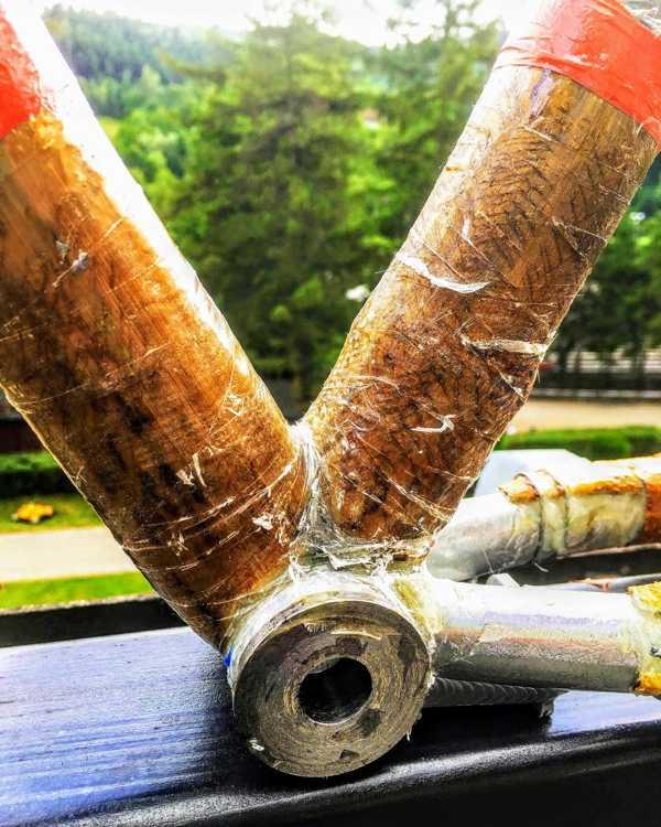 włókno szklane rama bambusowa