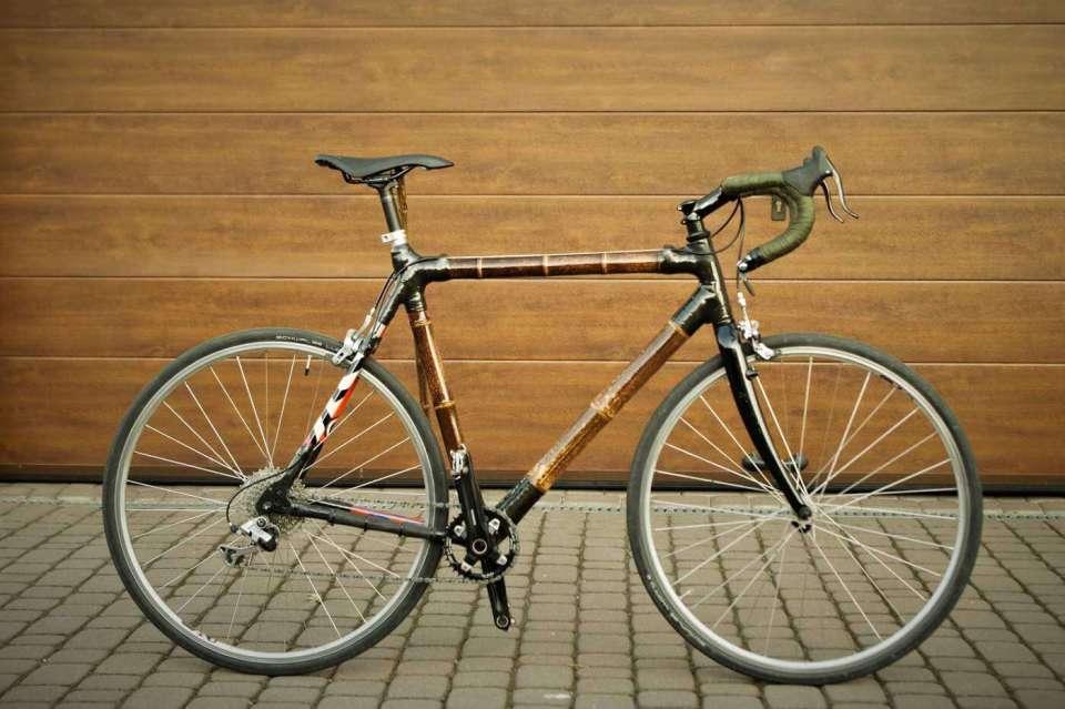 Bambusowy rower Marcina NoSign