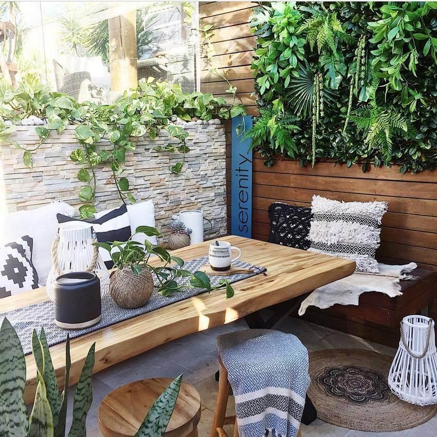 boho patio design ideas