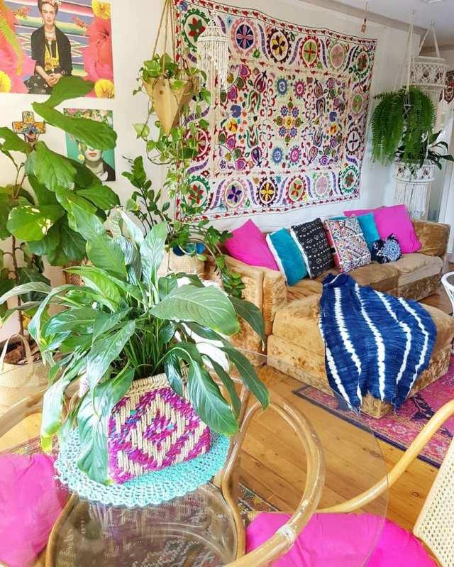 Bohemian Style Home Decor Ideas (11)