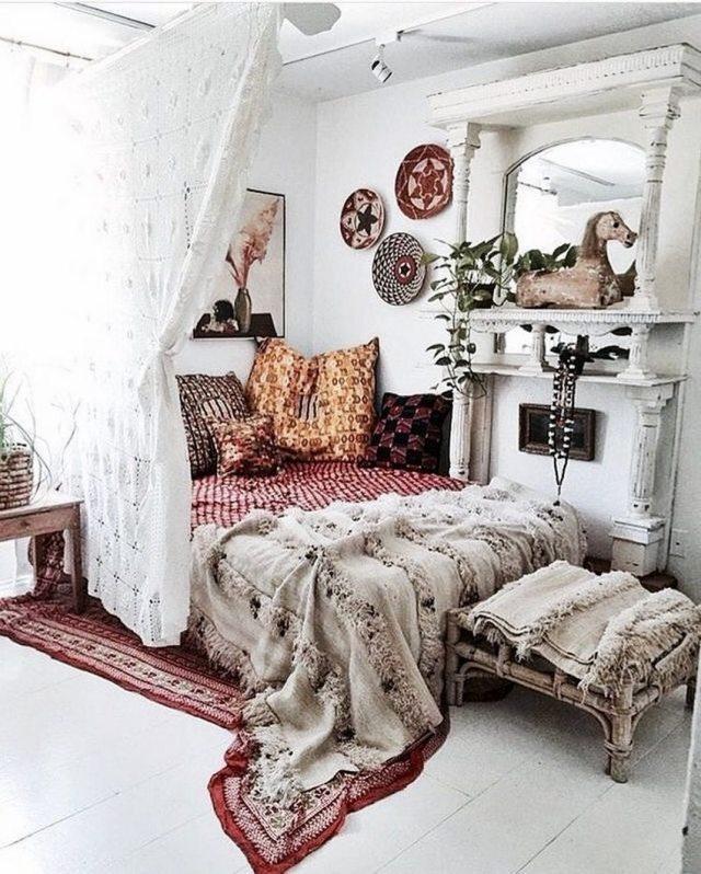Bohemian Style Home Decor Ideas (19)
