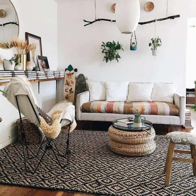 Bohemian Style Home Decor Ideas (48)