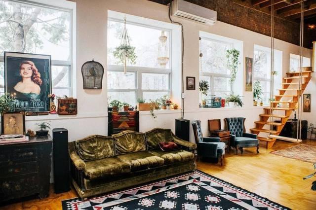 Bohemian Style Home Decor Ideas (54)