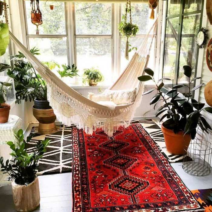 bohemian home decor ideas (10)