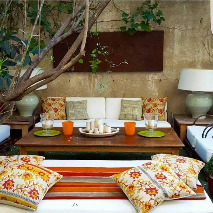 bohemian home decor ideas (37)