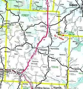 Map and directions bos hollow we are located on the dent texas county line in south central missouri rolla is 45 miles to our north we are 140 miles west of saint louis sciox Image collections