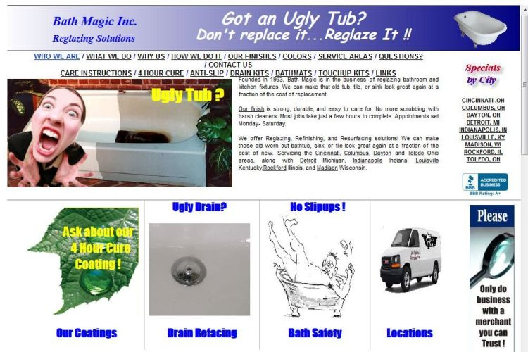 Ugly Websites Ugly Tub