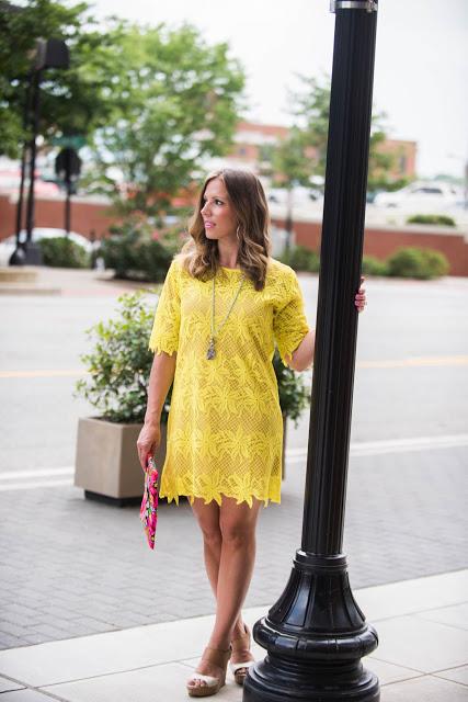 Little Lace Shift Dress