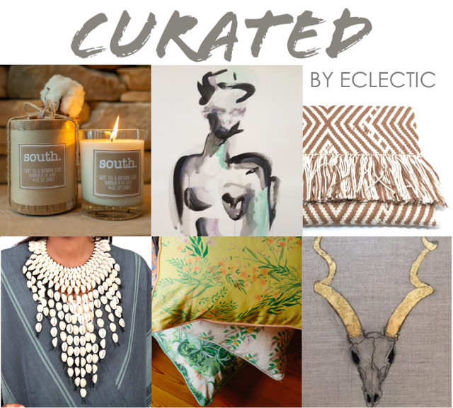 {CURATED by ECLECTIC POP UP SHOP with MARQUIN DESIGNS}