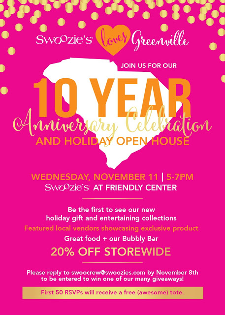 {SWOOZIES ANNIVERSARY EVENT}
