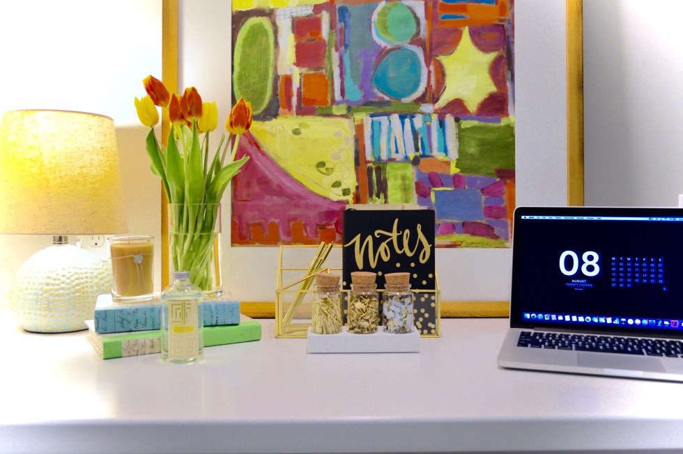 DESKTOP DECOR + BACK TO SCHOOL