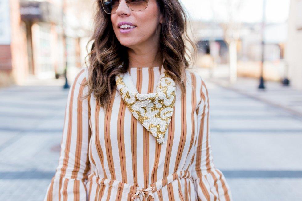 Boho Style File Blogger Striped Romper Revolve Clothing