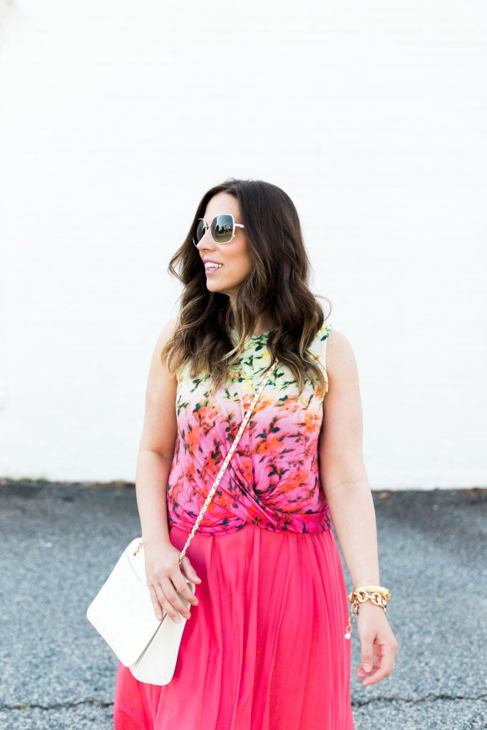 anthropologie twist front top as seen on blogger Boho Style File