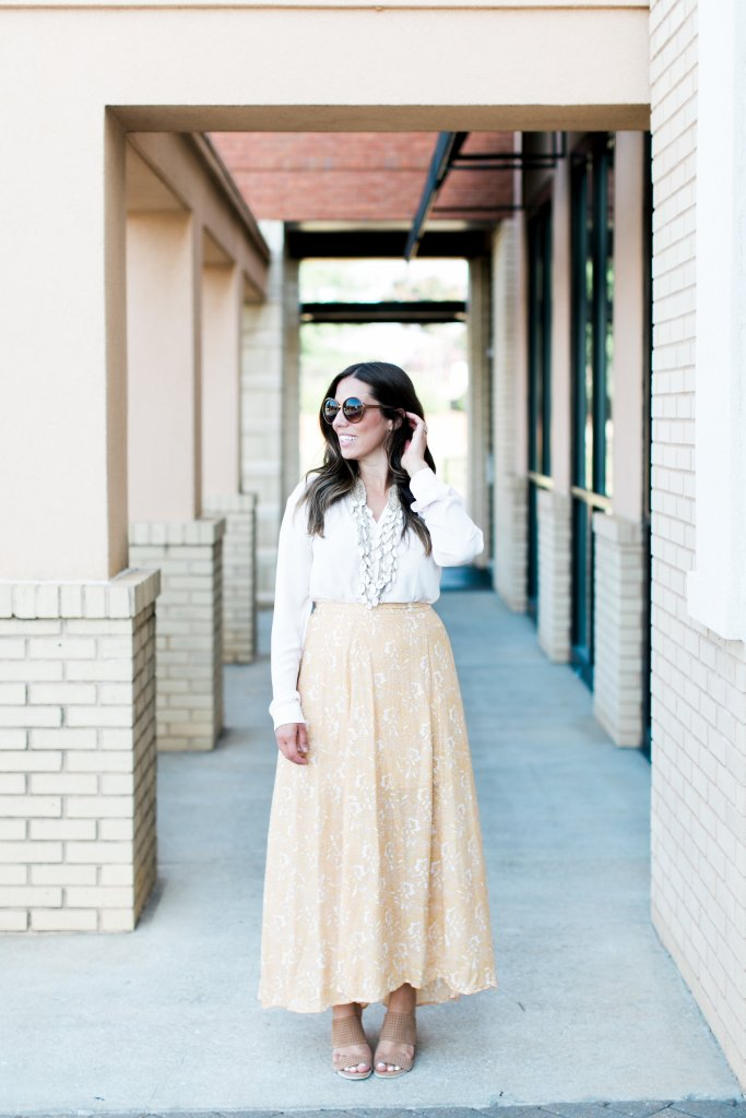 WEEKENDS SALES + THE PERFECT MAXI SKIRT
