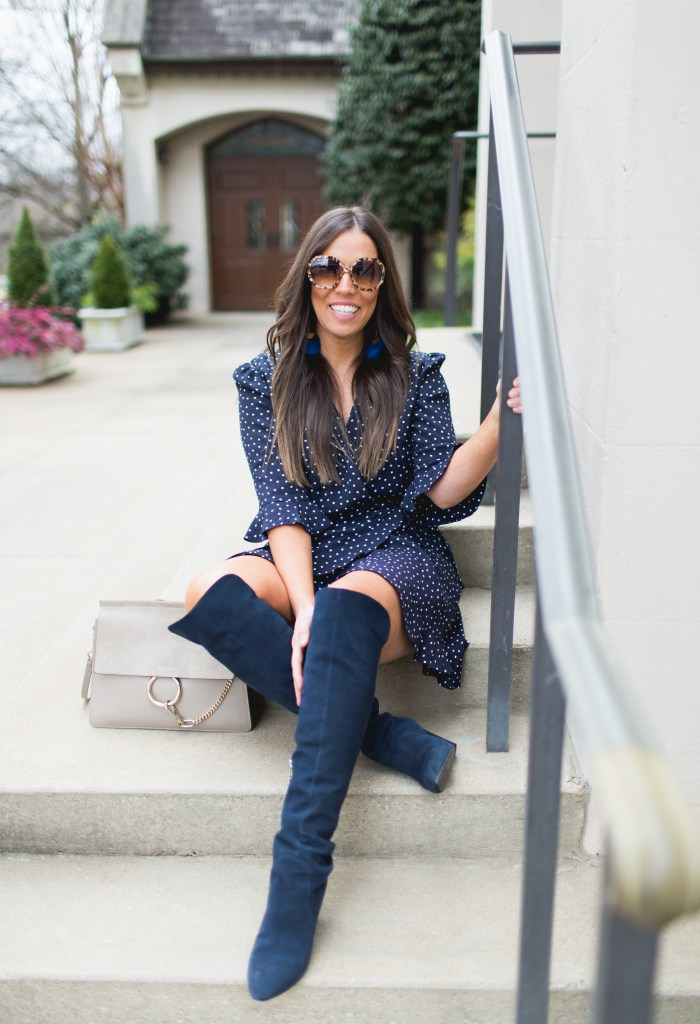 BEST POLKA DOT ROMPER + TOP PICKS FROM LOFT