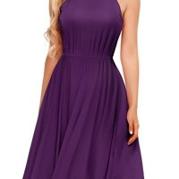 Regna X BOHO Women's Sleeveless and Cold Shoulder Basic Midi Dress (6 styles)