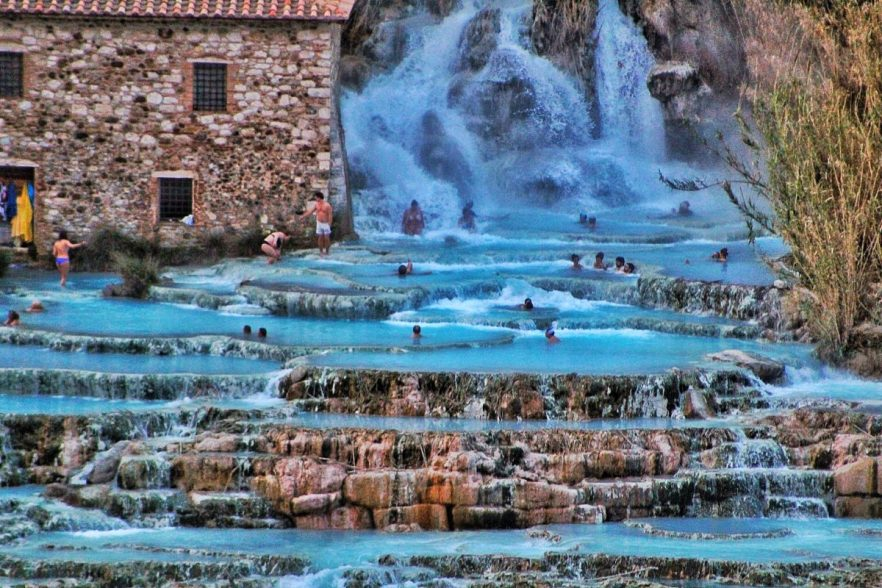 sartunia hot springs with bathers