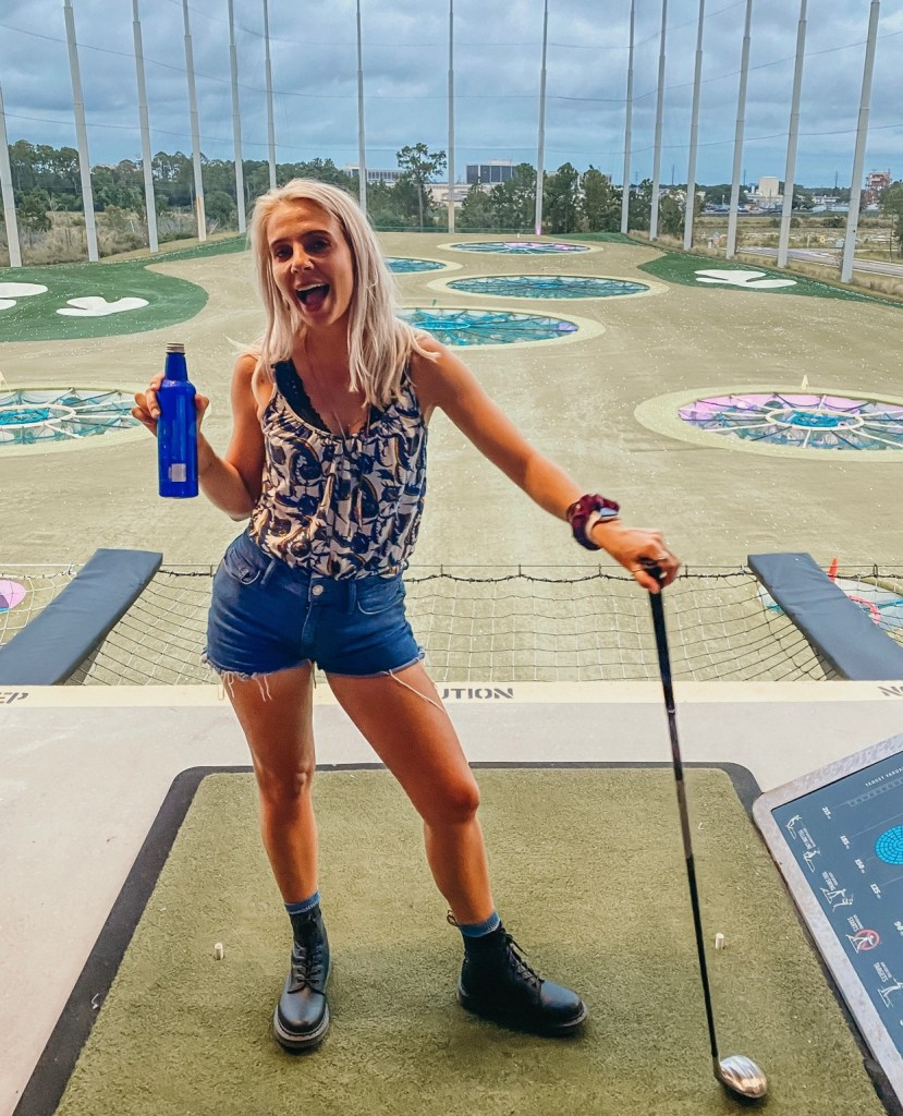 top golf, one of the best things to do in orlando