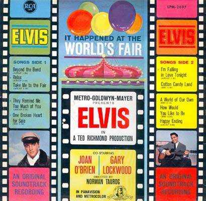 Image result for elvisIt Happened At The World's Fair album