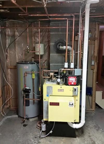 Typical Plumber Boiler Install - 18 hrs