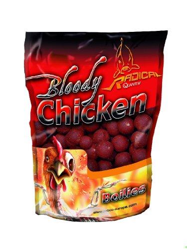 Quantum Naturköder 16mm/1kg Radical Boilie Bloody Chicken, mehrfarbig, 3954008 - 1