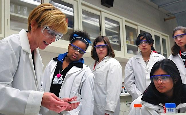 Afbeeldingsresultaat voor dag van meisjes en vrouwen in de wetenschap