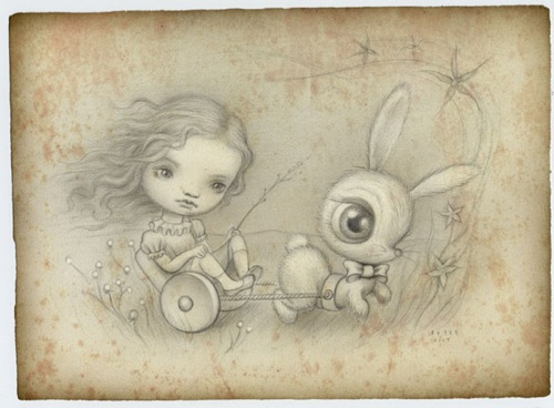 Ryden-Bunnycart Print
