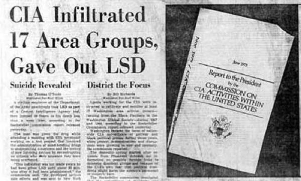 CIA Secret Experiments