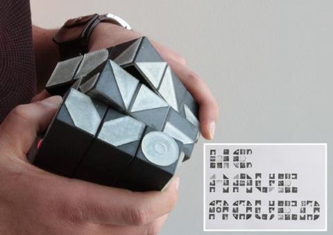 Rubik's Cube as font generator / Boing Boing