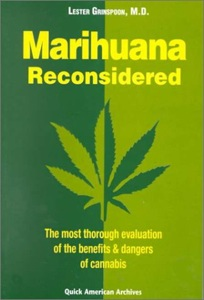 marihuana reconsidered carl sagan essay The illegality of cannabis is outrageous, carl sagan wrote in 1969 with the re-packaging of cosmos for a new generation, we thought it would be appropriate to remind readers that sagan was a marijuana user of great distinction.