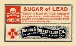 Poison Sugar-Of-Lead