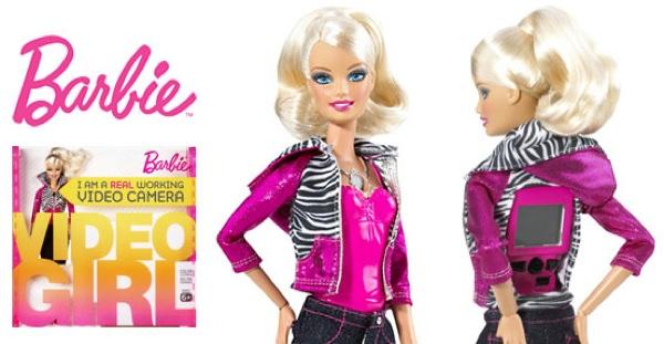 Toys Barbie-Video-Girl