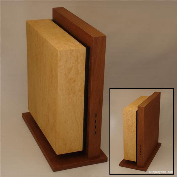 Minimalist Wooden Pc Case Boing Boing