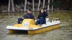 Concurs de hidrobiciclete în Delta Dunării