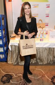 Today anchor Natalie Morales attends stopped by the Boiron booth at the HBO Luxury Lounge, where she received a customized selection of Boiron medicines.