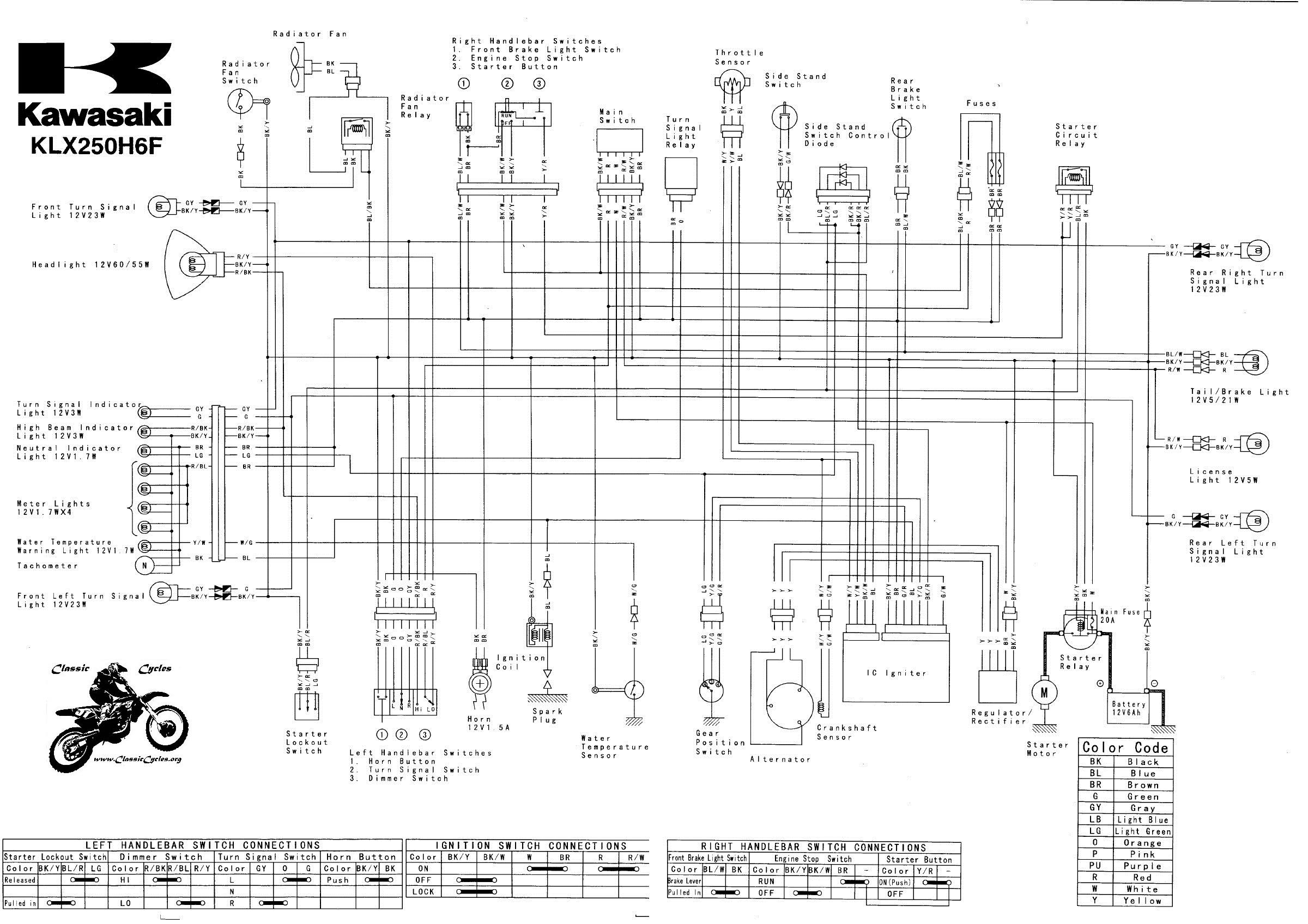 Schema Electrique Kawasaki Er5