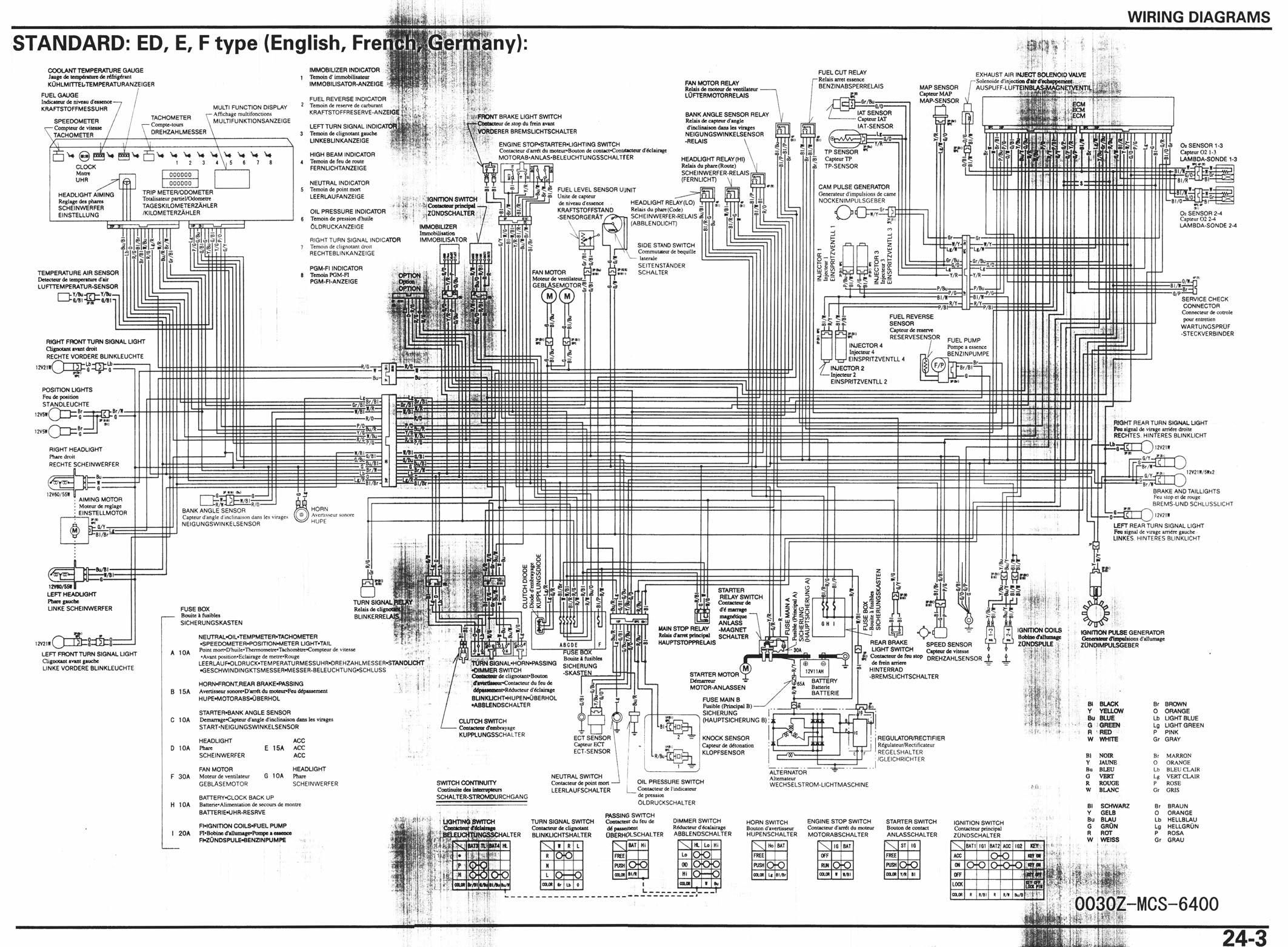 Schema Electrique Cbr F