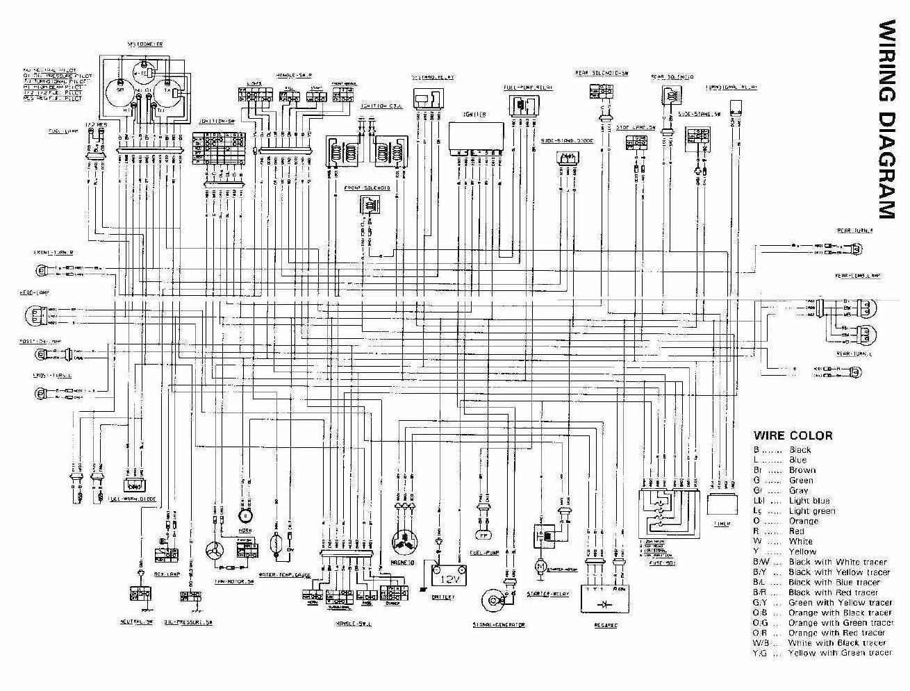 Schema Electrique Intruder