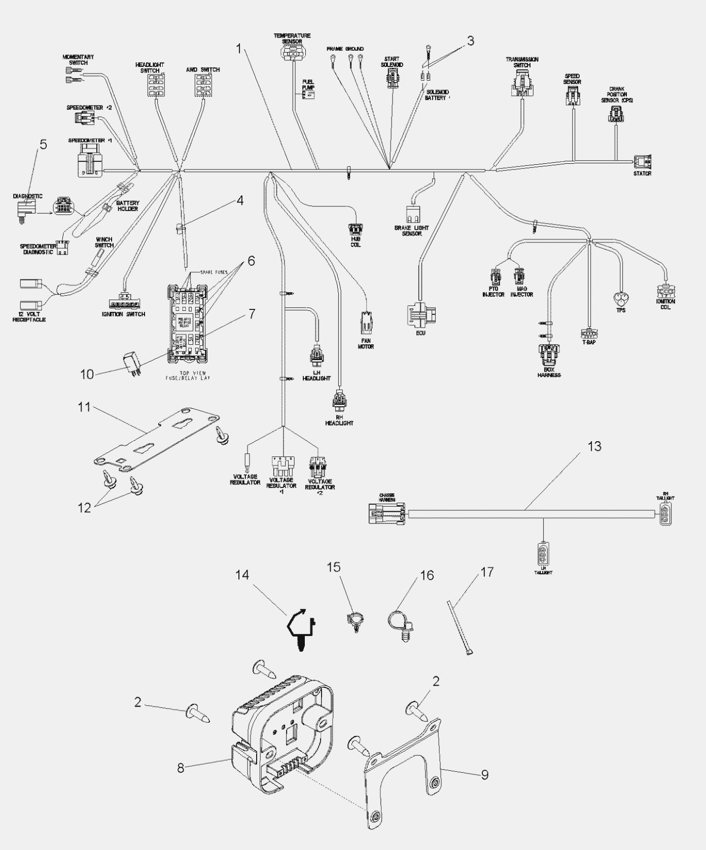 [DIAGRAM] Polaris Rzr 900 Parts Diagram FULL Version HD
