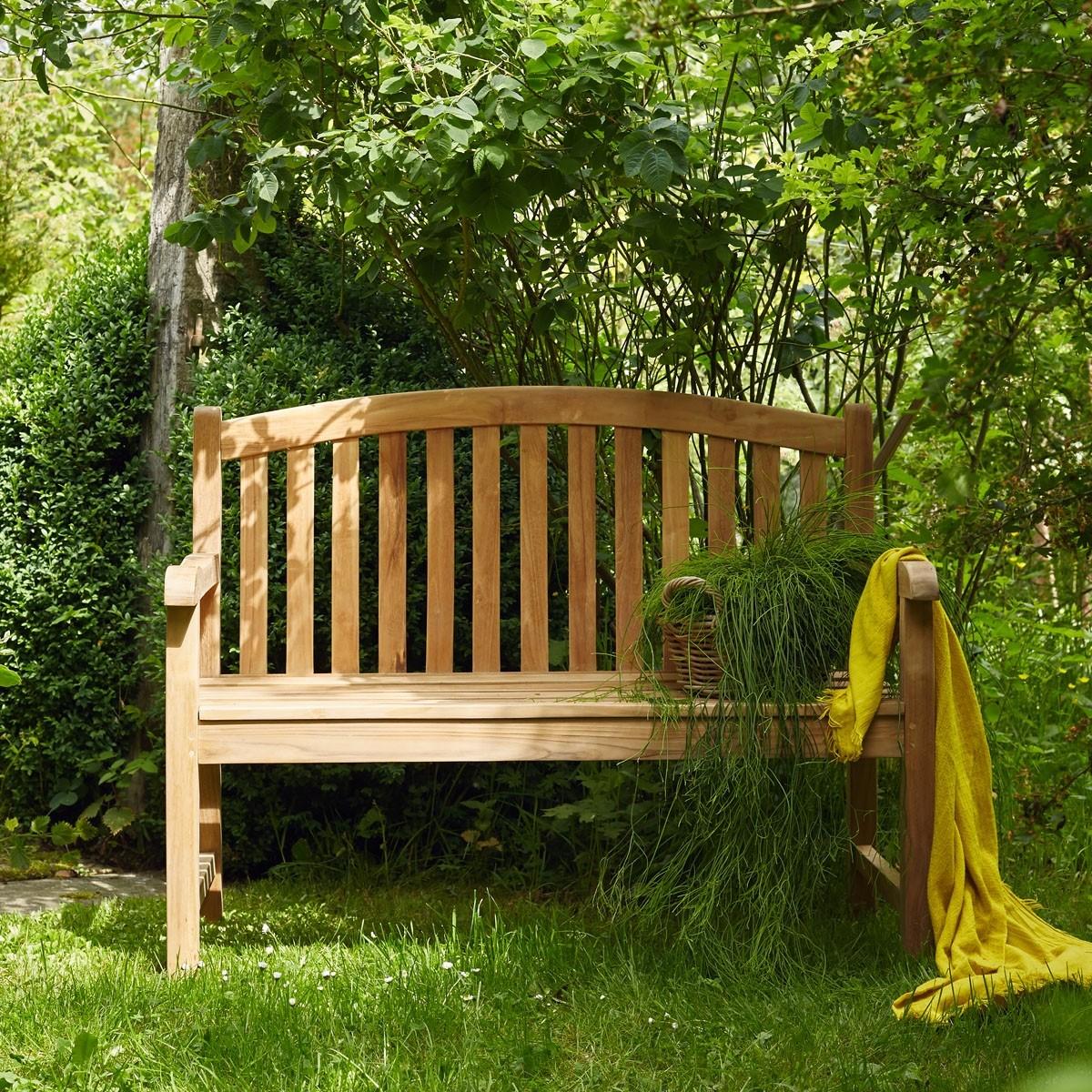 banc de jardin en teck 120 midland