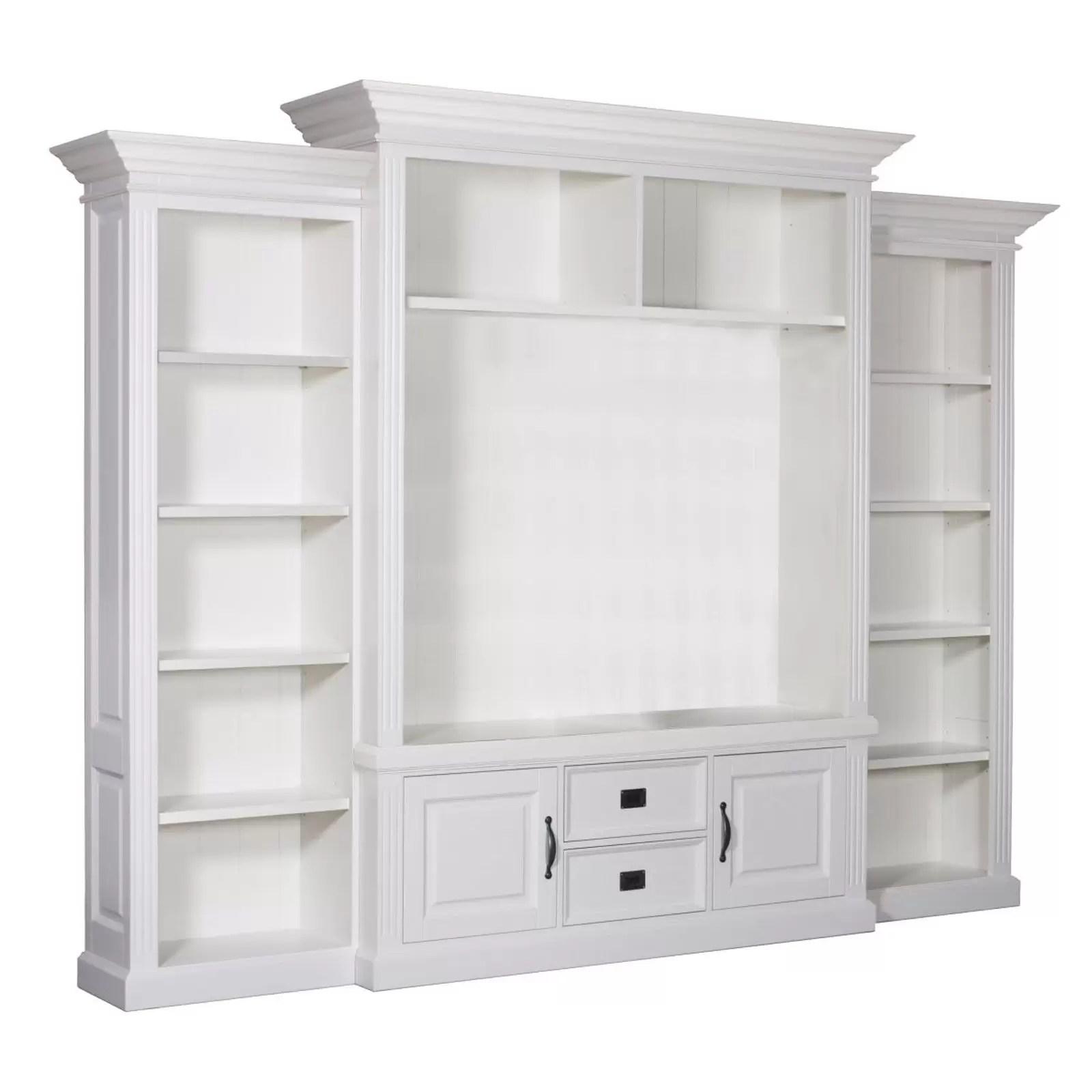 meuble tv 2 portes 2 tiroirs chic