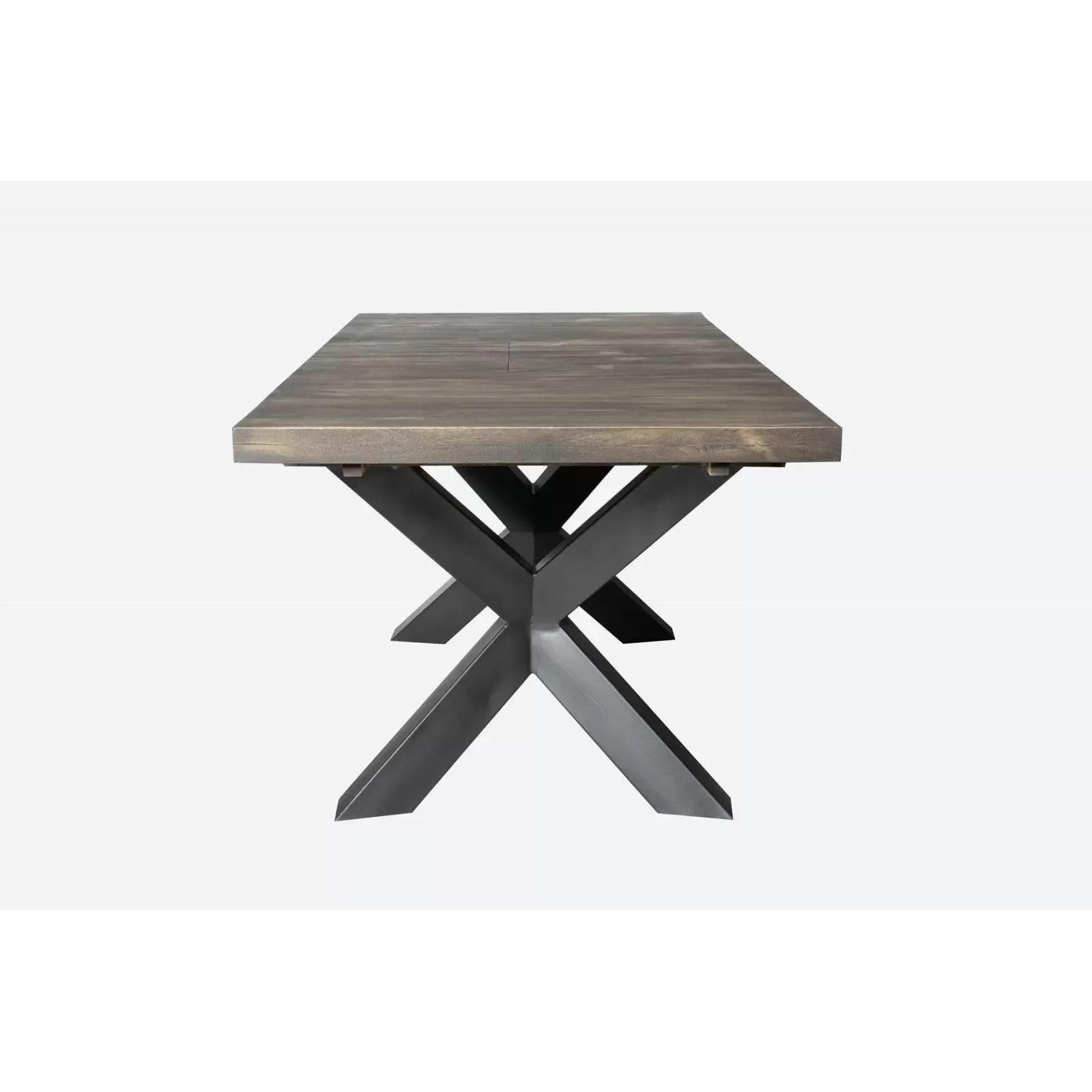 new york table semi haute allonge