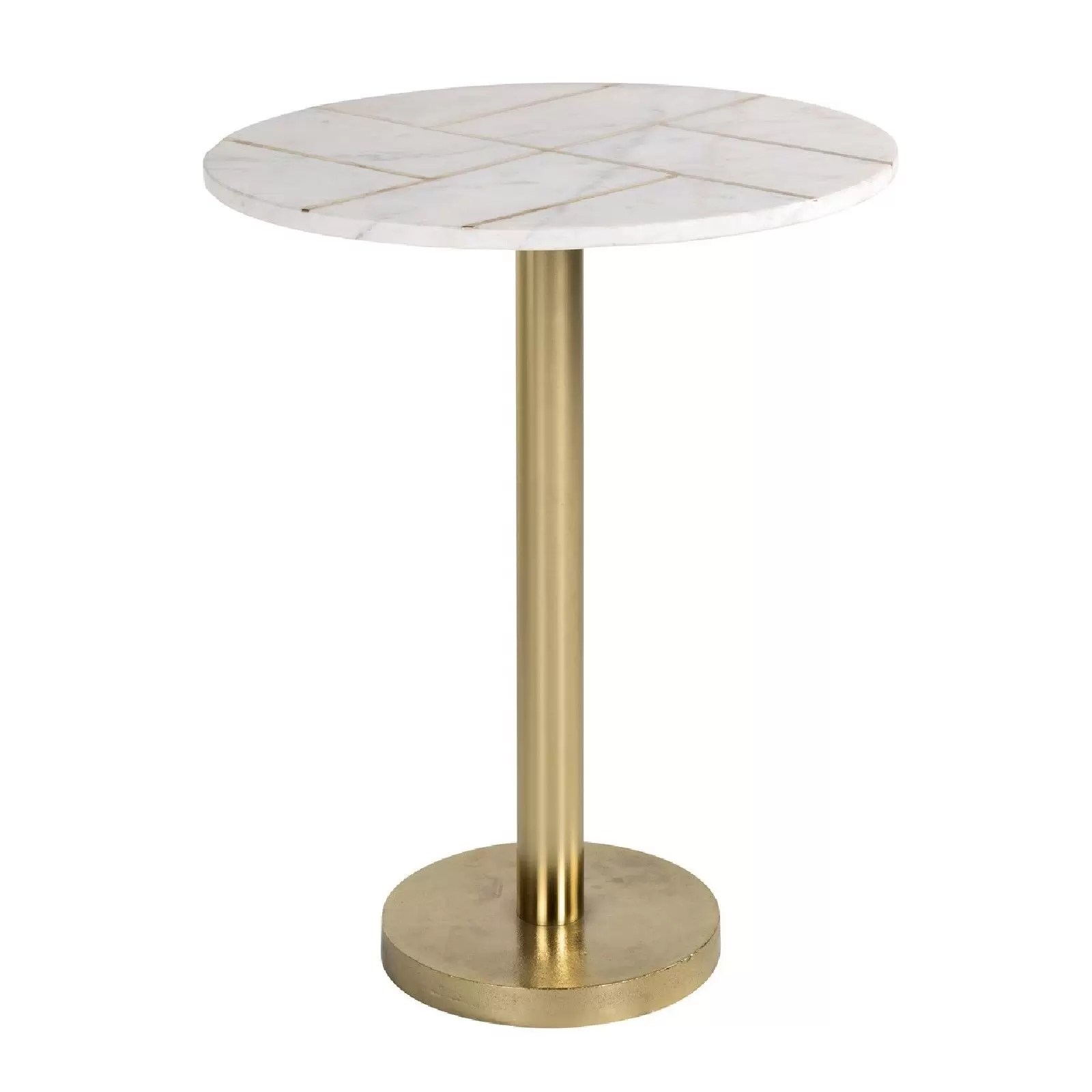 table d angle cody avec du marbre