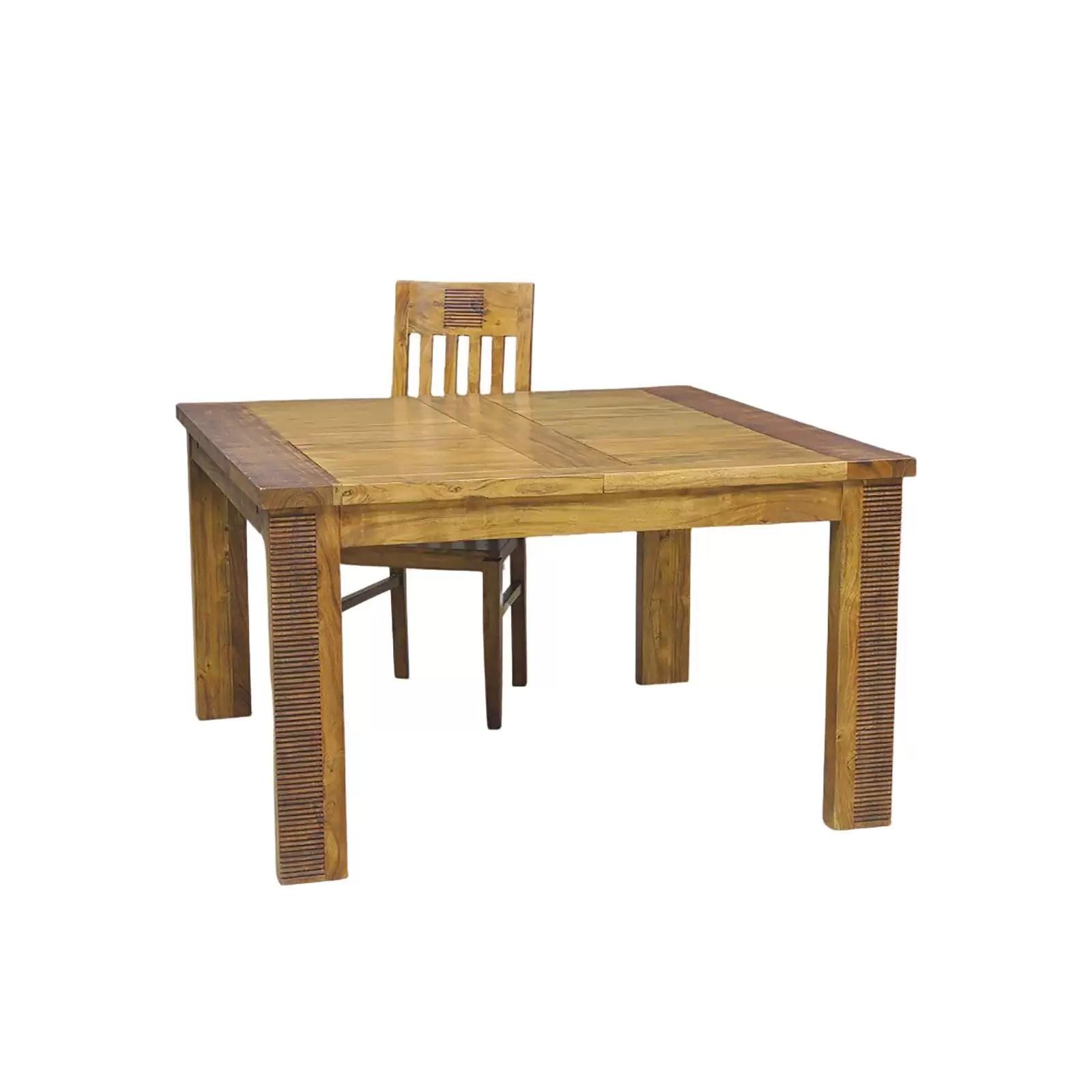 table de repas extensible bois et chiffons