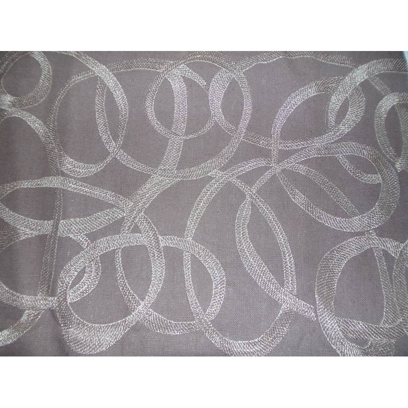 double rideau taupe modele ribbons